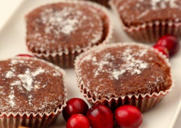 Ciasteczka czekoladowo - korzenne.*.