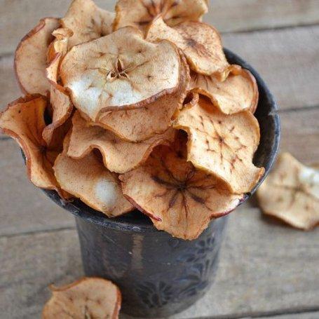 Domowe chipsy jabłkowe