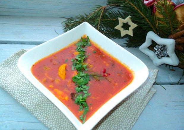 Jednogarnkowe danie warzywno mięsne z gruszką i  suszonymi śliwkami