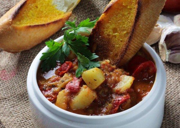 MARMITAKO – Ragoût ziemniaczane z tuńczykiem i pomidorami