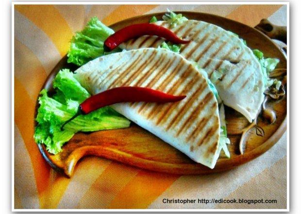 Meksykańska kanapka – Quesadilla.