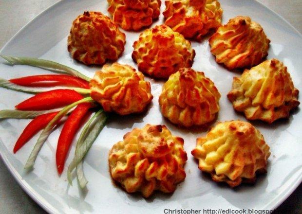 Pommes duchesse - ziemniaki księżnej.