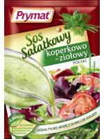Sos sałatkowy koperkowo-ziołowy