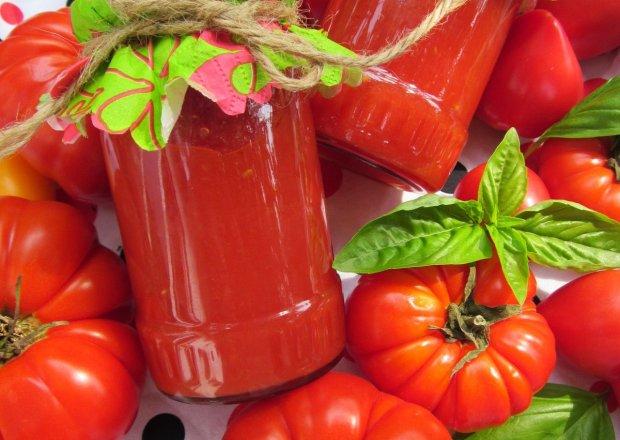 Przecier pomidorowy na zupę/sos