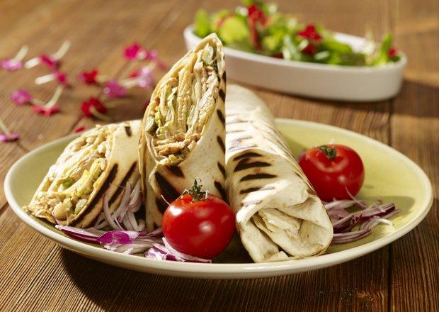 Sałatka z kurczakiem kebab-gyros - Krok po kroku