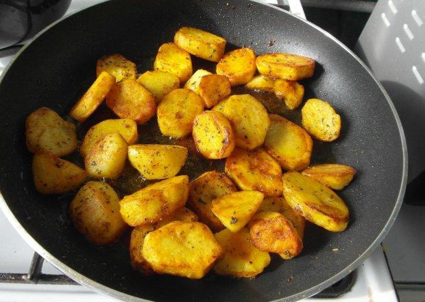 Smażone chrupiące  ziemniaki