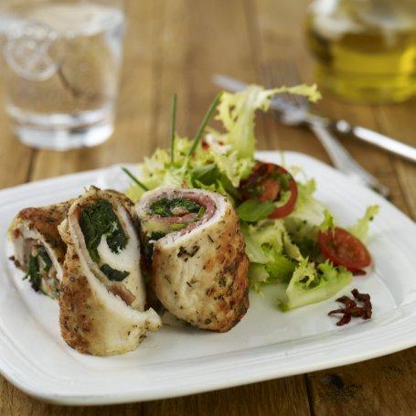 Staropolskie roladki z kurczaka ze szpinakiem i serem oscypek - Krok po kroku