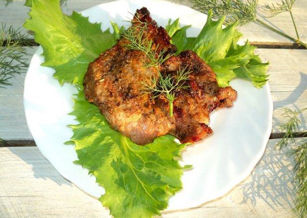 Ziołowa  karkówka  z grilla